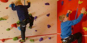Kletterkurse für die Kleinsten