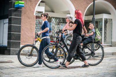 E-Bike-Tour mit der ganzen Familie