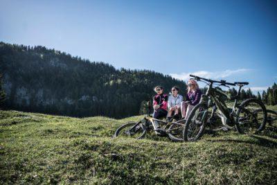 Durch Berg und Tal mit dem E-Bike